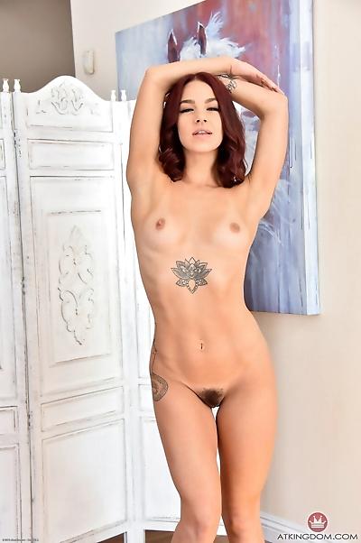 Beautiful tattooed Evelin..