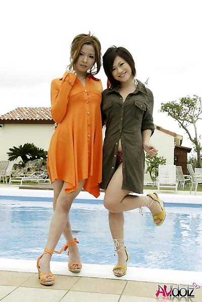 японский подростки модель with..
